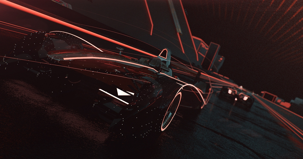 Audi TVC Animation